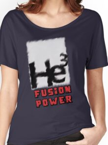 Mars 2030 - Helium 3 Fusion Power Women's Relaxed Fit T-Shirt