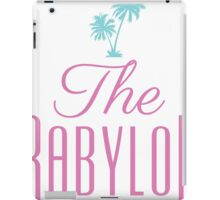 The Babylon Nightclub iPad Case/Skin