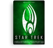 Star Trek - The Borg Collective Canvas Print