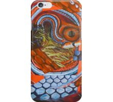 Thamnophis sirtalis iPhone Case/Skin