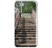 Train station stairs iPhone Case/Skin