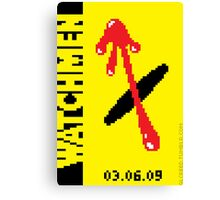 8-Bit WATCHMEN Canvas Print