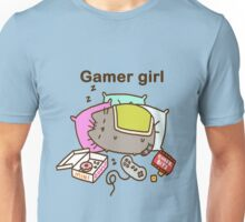 gamer girl pushen Unisex T-Shirt
