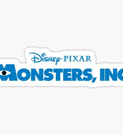 Monsters Inc Sticker