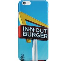 In n Out iPhone Case/Skin