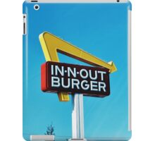 In n Out iPad Case/Skin