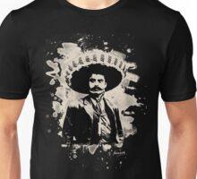 Emiliano Zapata - bleached creme-white Unisex T-Shirt