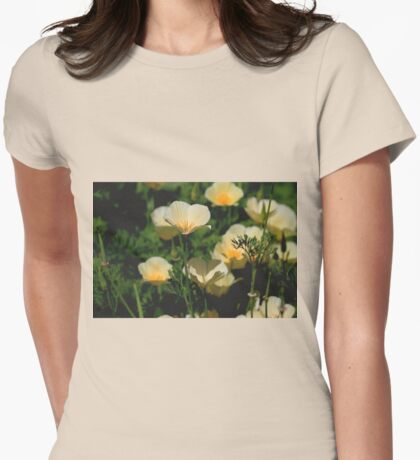 Iceland Poppies Womens Fitted T-Shirt