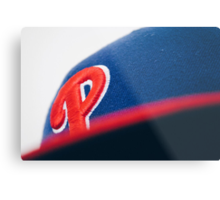 For you Phillies fans out there. Metal Print