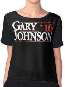 Gary Johnson 2016 - Gary Johnson for President Chiffon Top