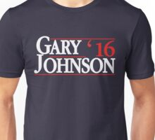 Gary Johnson 2016 - Gary Johnson for President Unisex T-Shirt