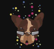 Brutus nerdy polka dots Kids Tee
