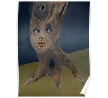 Tree Woman The Face of Nature Poster
