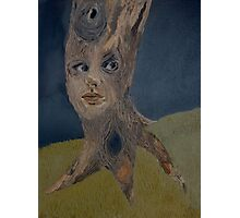 Tree Woman The Face of Nature Photographic Print