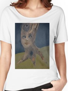 Tree Woman The Face of Nature Women's Relaxed Fit T-Shirt