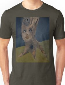 Tree Woman The Face of Nature Unisex T-Shirt