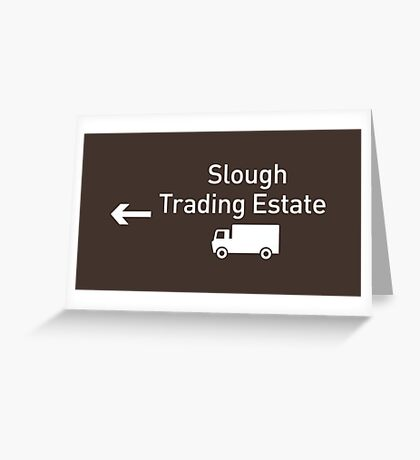 Slough Trading Estate Greeting Card