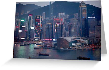 Hong Kong Chinese New Year  by MichaelKe