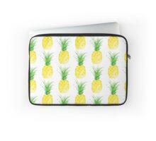 Watercolor Pineapple Laptop Sleeve
