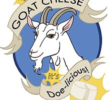 Try Goat Cheese - It's Doe-licious! by Nasubionna