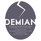 DEMIAN by Hermann Hesse by ubikdesigns