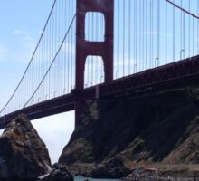 Golden Gate Fog  Sticker
