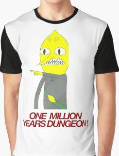 Lemongrab - One million years dungeon Graphic T-Shirt