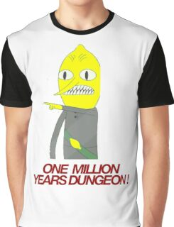 Lemongrab - One million years dungeon Graphic T-Shirt