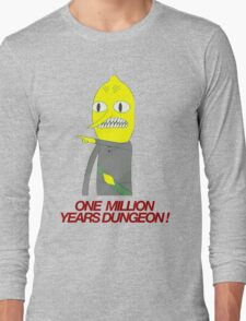 Lemongrab - One million years dungeon Long Sleeve T-Shirt