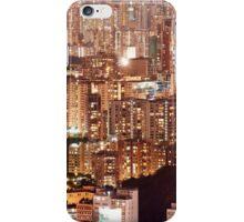 Hong Kong City Density iPhone Case/Skin