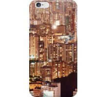 Hong Kong City Density iPhone Case/Skin