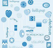 Blue Lollipop by 2HivelysArt
