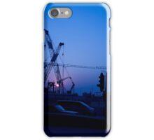 Hong Kong Blue Sunset iPhone Case/Skin