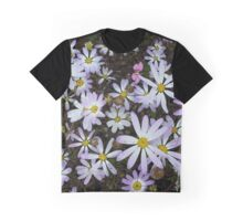 Mauve Daisys at Meelup Graphic T-Shirt
