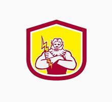 Zeus Greek God Arms Cross Thunderbolt Retro T-Shirt