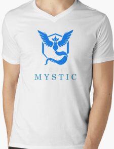 Pokemon Go Team Mystic Mens V-Neck T-Shirt