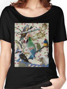 Pretty Birdies Women's Relaxed Fit T-Shirt