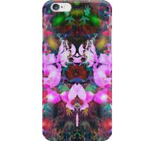 Evening of the dancing flowers iPhone Case/Skin