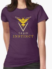Pokemon GO Team Instinct Womens Fitted T-Shirt
