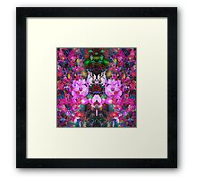 Evening of the dancing flowers Framed Print