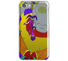 NiGHTS And Wizeman the Wicked iPhone Case/Skin