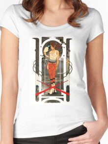 Portal Mucha  Women's Fitted Scoop T-Shirt