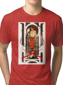 Portal Mucha  Tri-blend T-Shirt