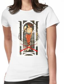 Portal Mucha  Womens Fitted T-Shirt