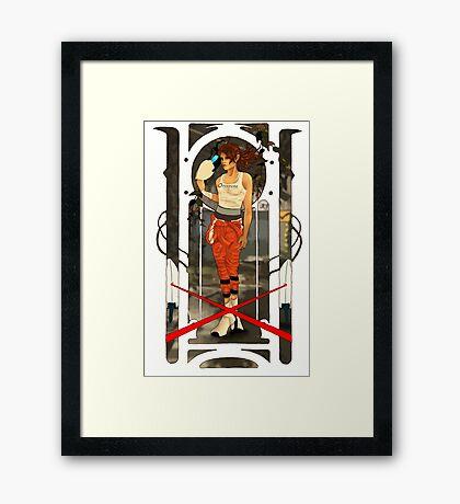 Portal Mucha  Framed Print