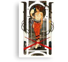 Portal Mucha  Canvas Print