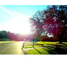 Welcome the sun Photographic Print