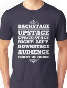 Theatre Geeks Design Unisex T-Shirt