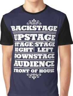 Theatre Geeks Design Graphic T-Shirt