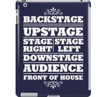Theatre Geeks Design iPad Case/Skin